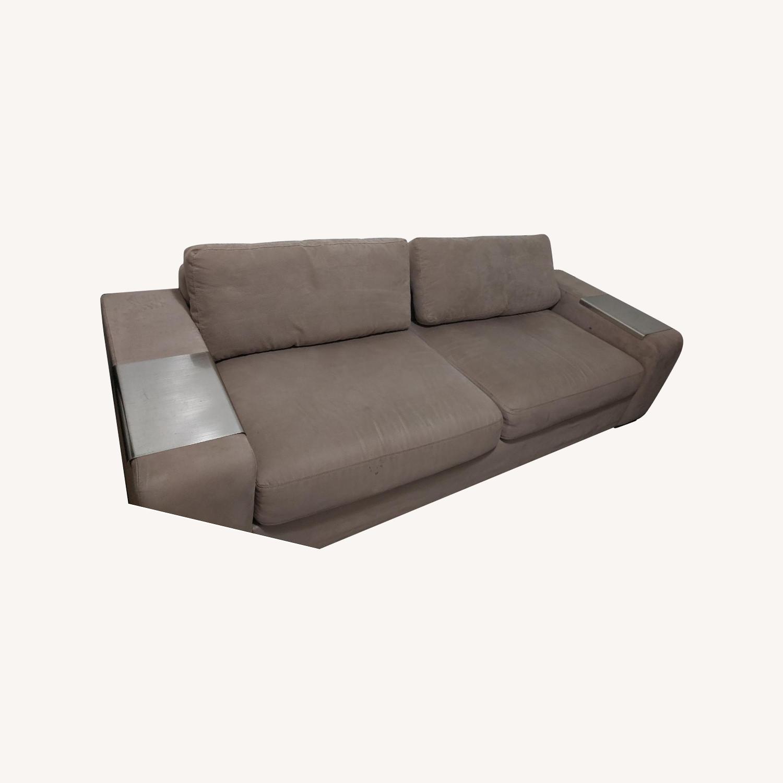 EQ3 Microsuede Sofa