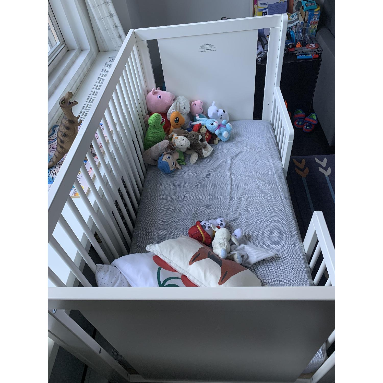 Oeuf Sparrow Crib w/ Toddler Conversion Kit - image-3