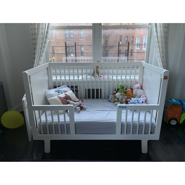 Oeuf Sparrow Crib w/ Toddler Conversion Kit - image-4