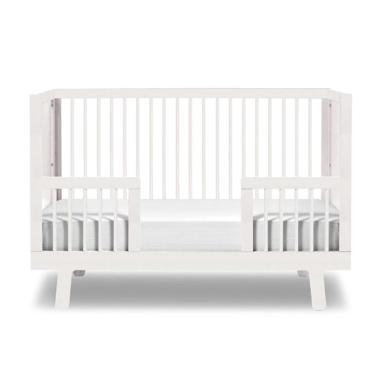 Oeuf Sparrow Crib w/ Toddler Conversion Kit - image-0