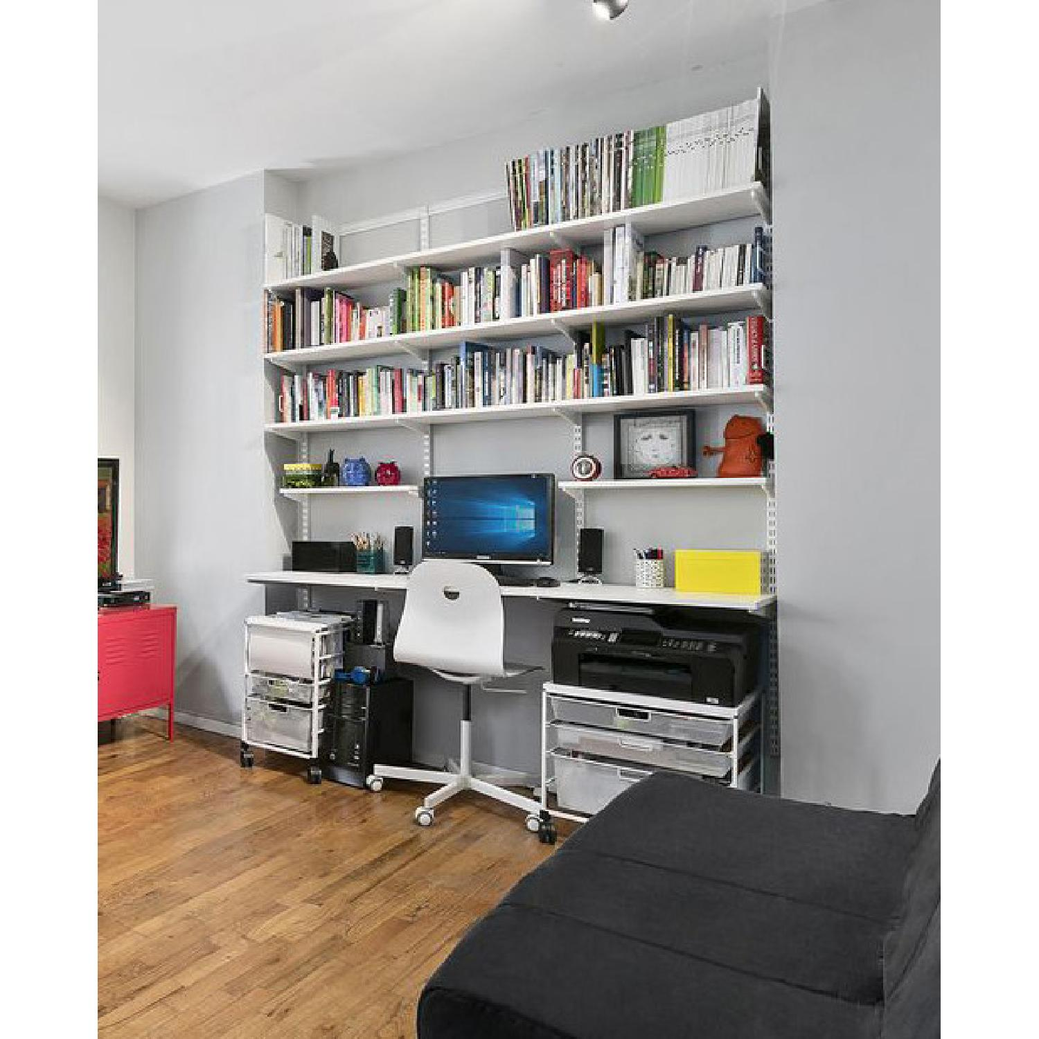Container Store Elfa Desk and Bookshelf Components - image-1