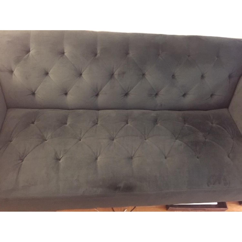 Amazing Macys Modern Dark Green Sofa Aptdeco Creativecarmelina Interior Chair Design Creativecarmelinacom