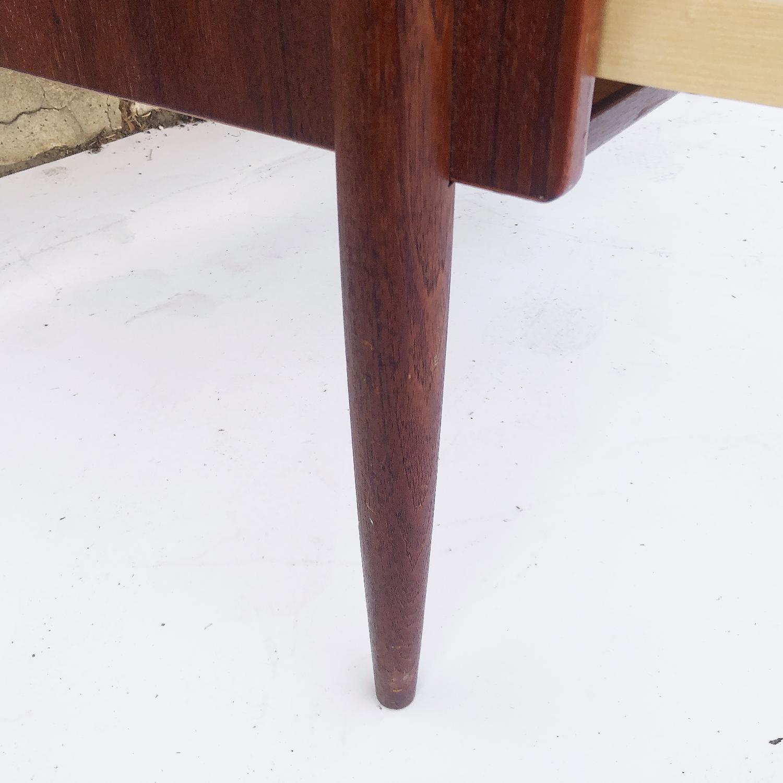 Arne Vodder Scandinavian Modern Teak Desk - image-6