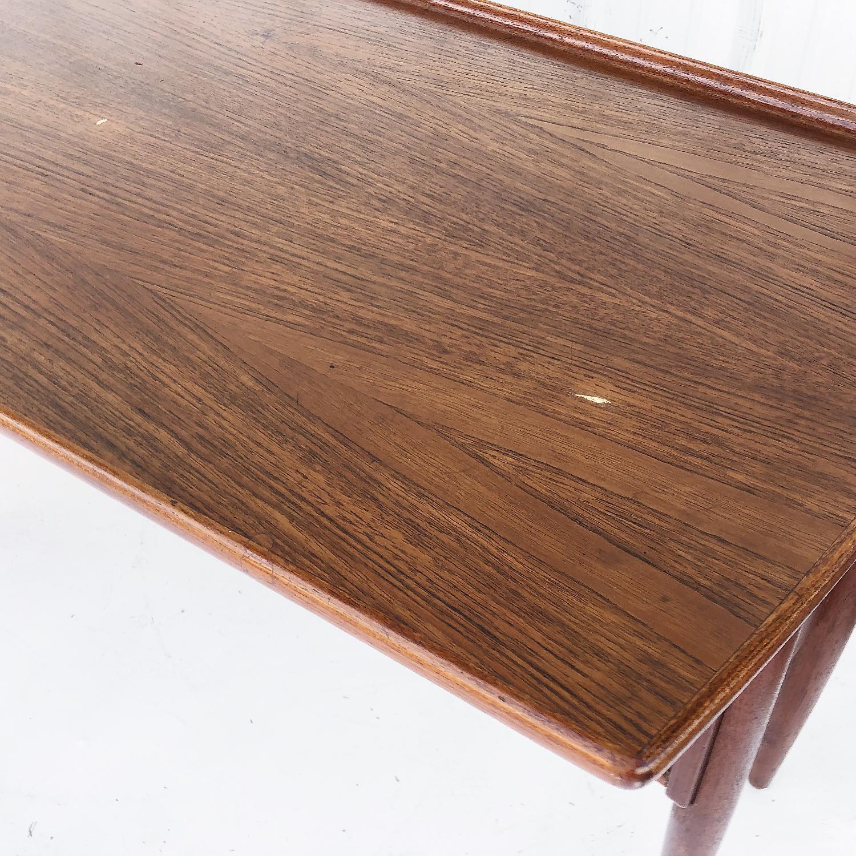 Arne Vodder Scandinavian Modern Teak Desk - image-13