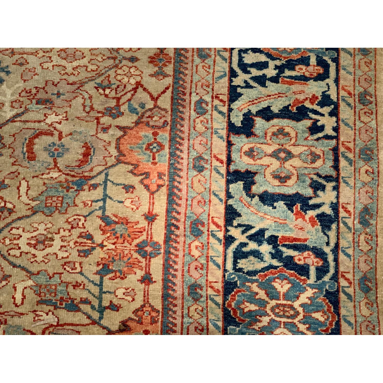 Turkish Vegetable Dyed Wool Rug - image-8