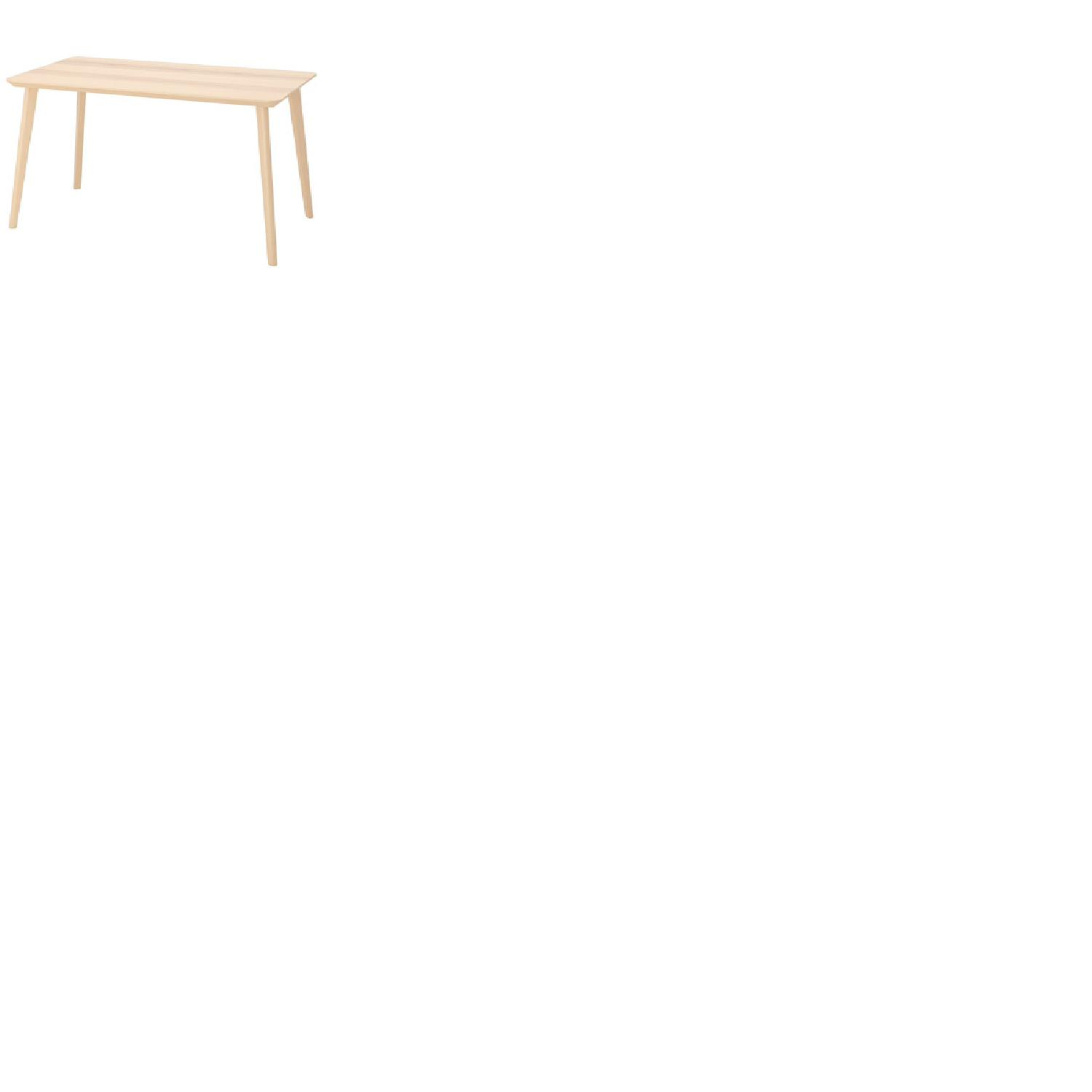 Ikea Lisabo Dining Table w/ 4 Norrnas Chairs - image-1