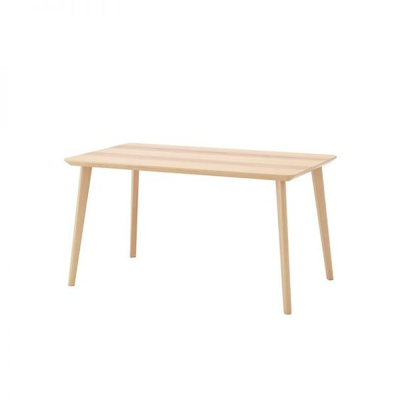 Ikea Lisabo Dining Table w/ 4 Norrnas Chairs