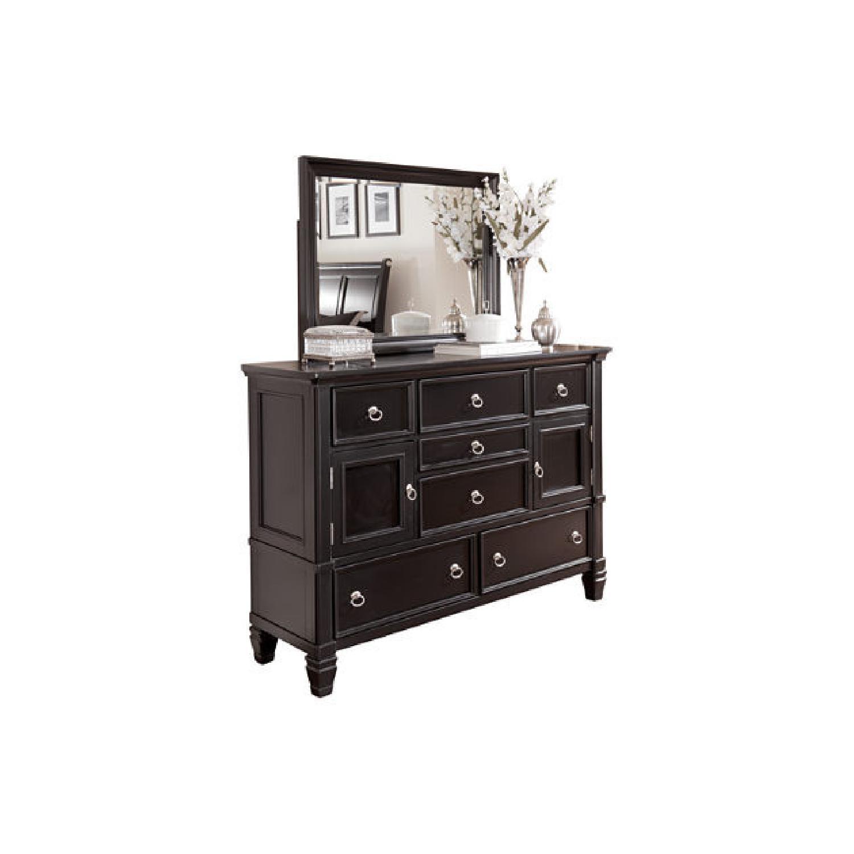 Ashley Greensburg Dresser in Black - image-0
