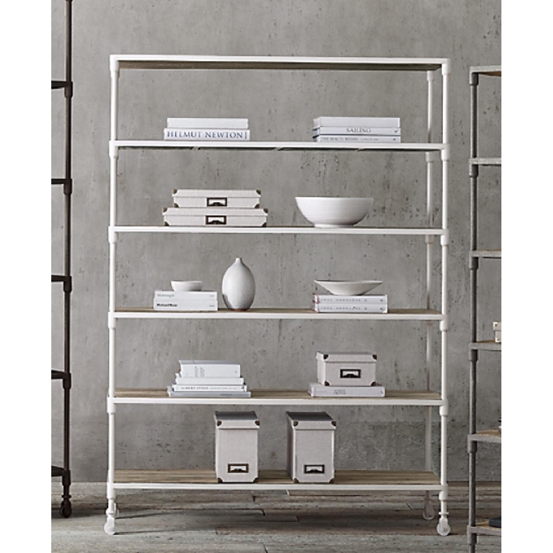 Restoration Hardware Industrial Bookcase - image-1