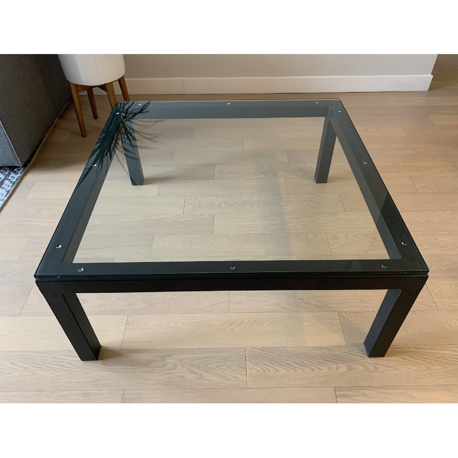 Room & Board Parsons Glass Coffee Table - image-1