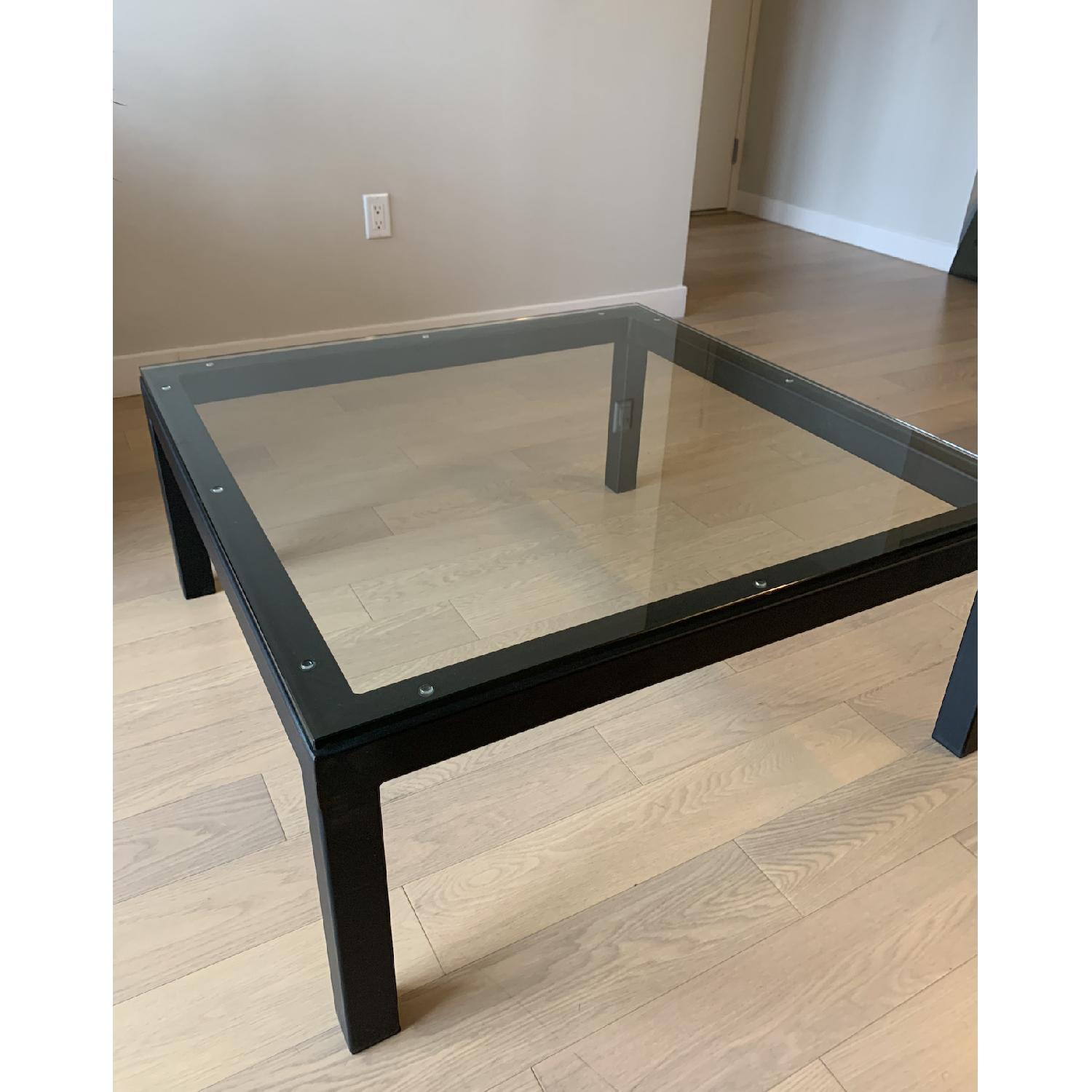 Room & Board Parsons Glass Coffee Table - image-2
