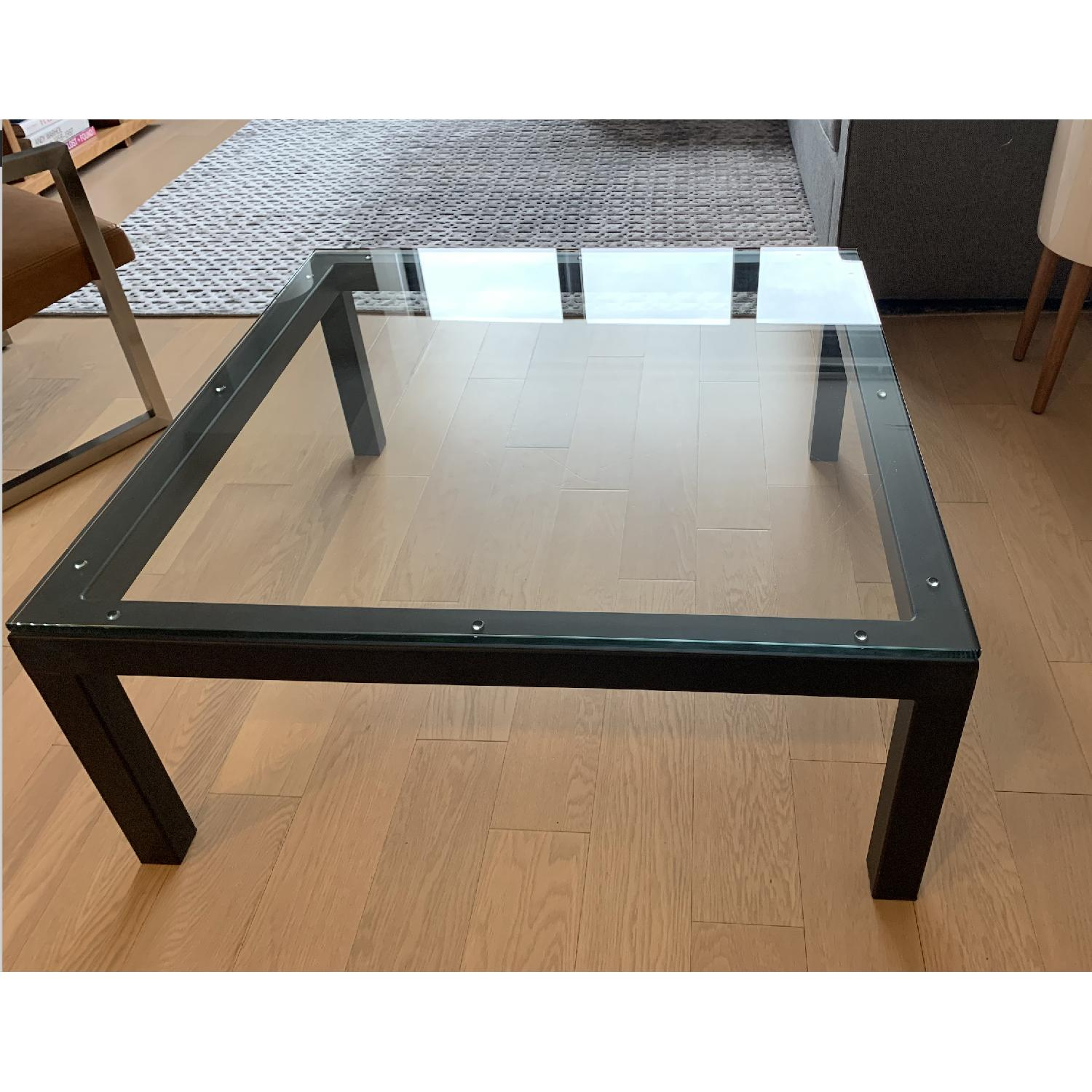 Room & Board Parsons Glass Coffee Table - image-4