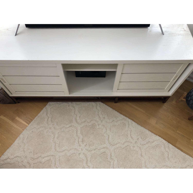 Crate & Barrel Clapboard Media Console - image-1