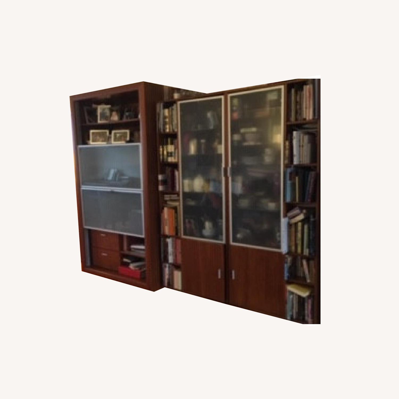Workbench Wood 4-Piece Wall unit