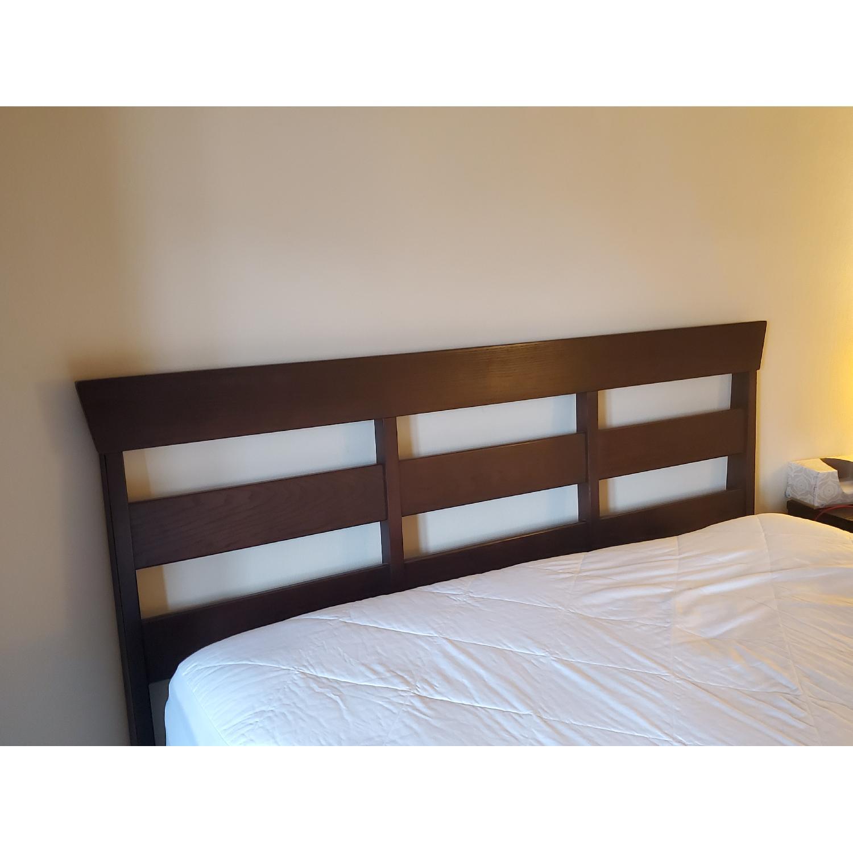 Ethan Allen Horizon Queen Size Lotus Bed - image-2