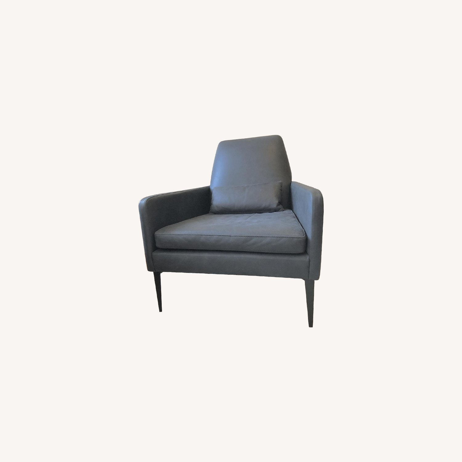 West Elm Leather Armchair
