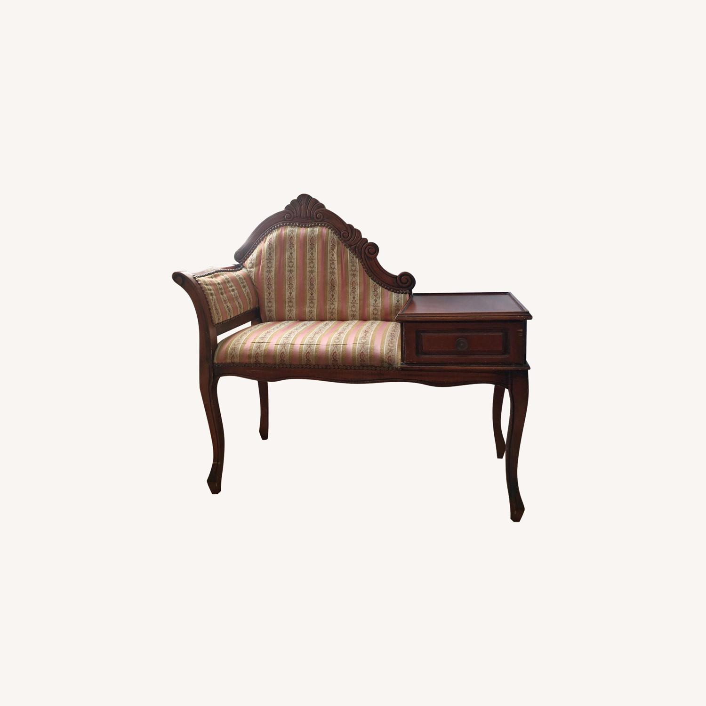 Dimco Inc. Vintage Gossip Bench/Phone Chair