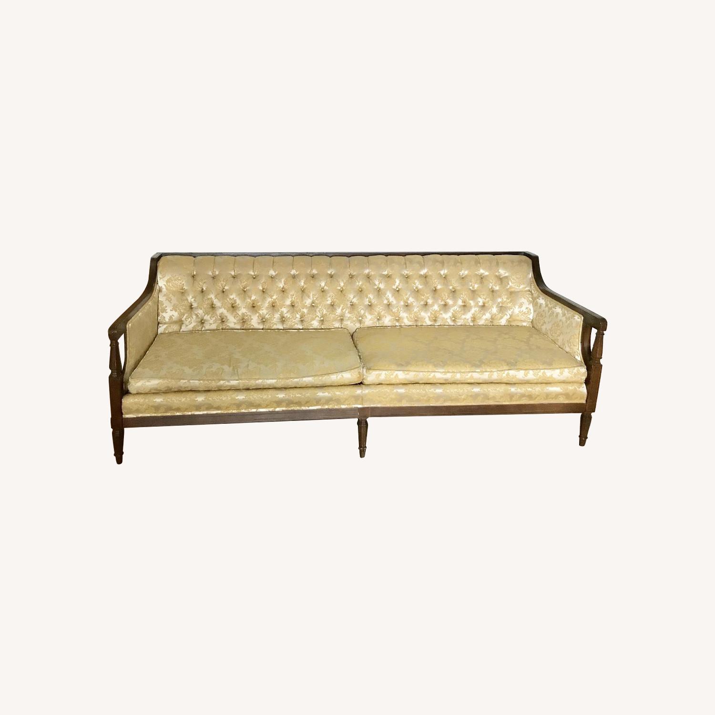 Vintage Louis XVI Style Depression-Era Sofa