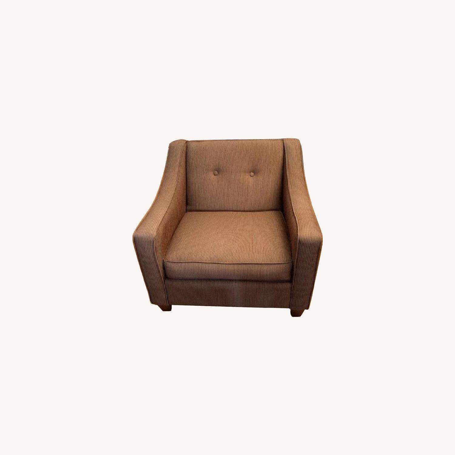 Craftmaster Furniture Brown Fabric Armchair