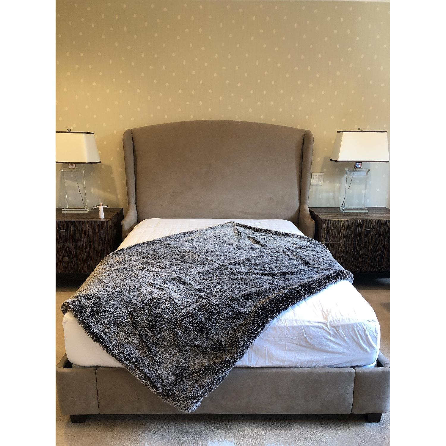 Modern Queen Size Bed - image-6