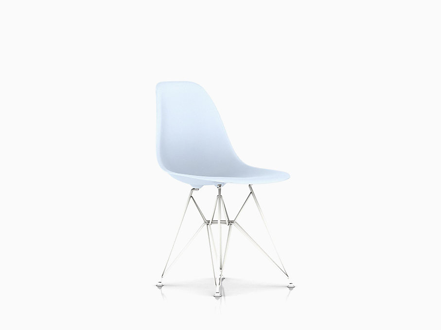 Herman Miller Eames Molded Plastic Eiffel Base Chair