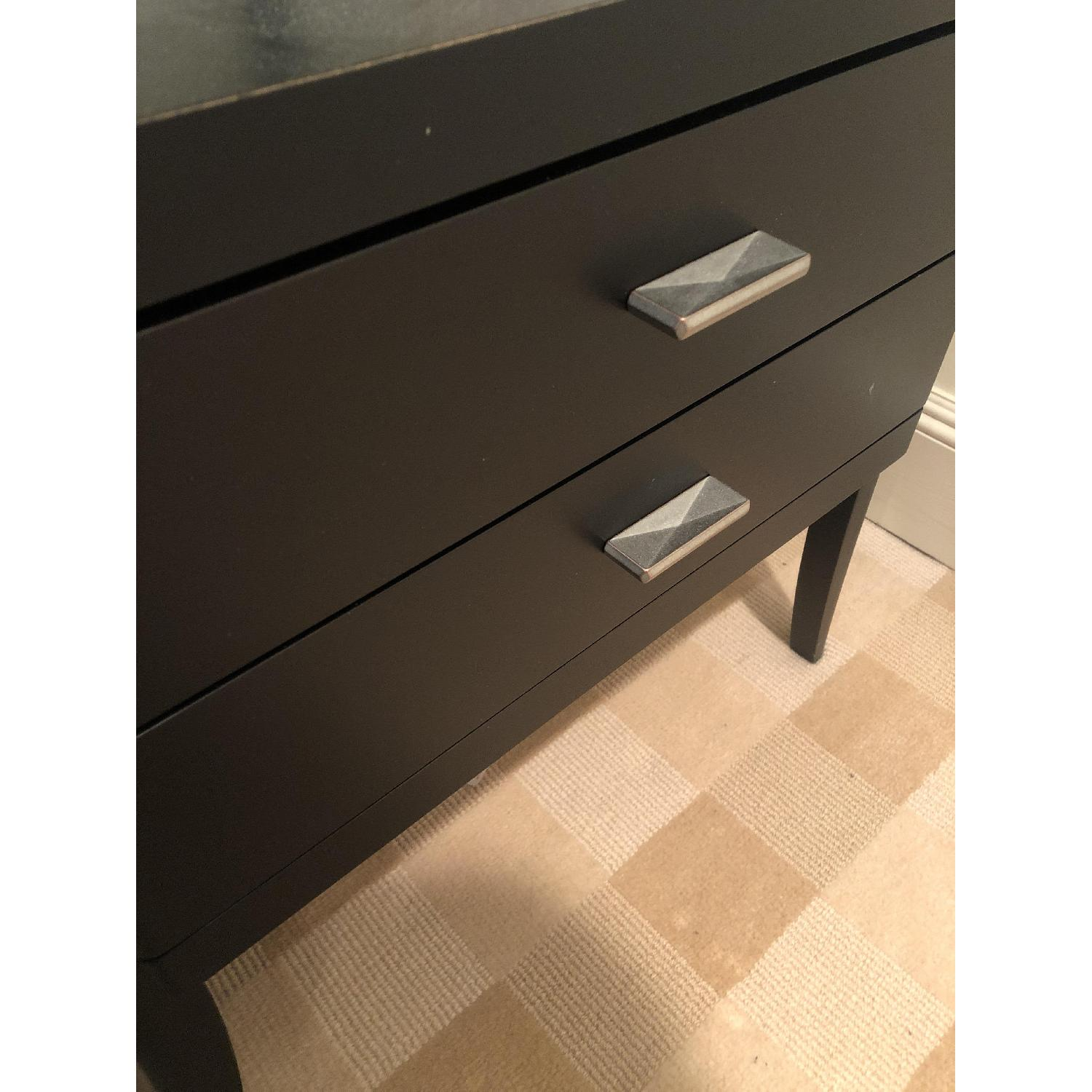 Black Wood Nightstands - image-2