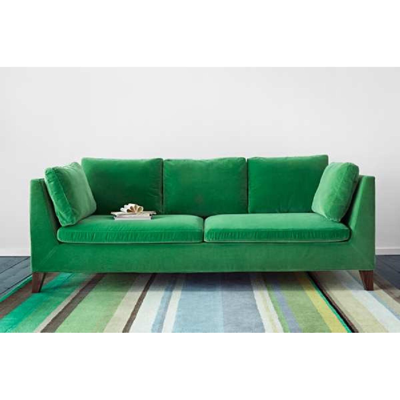 Peachy Ikea Stockholm Green Velvet Sofa Aptdeco Machost Co Dining Chair Design Ideas Machostcouk