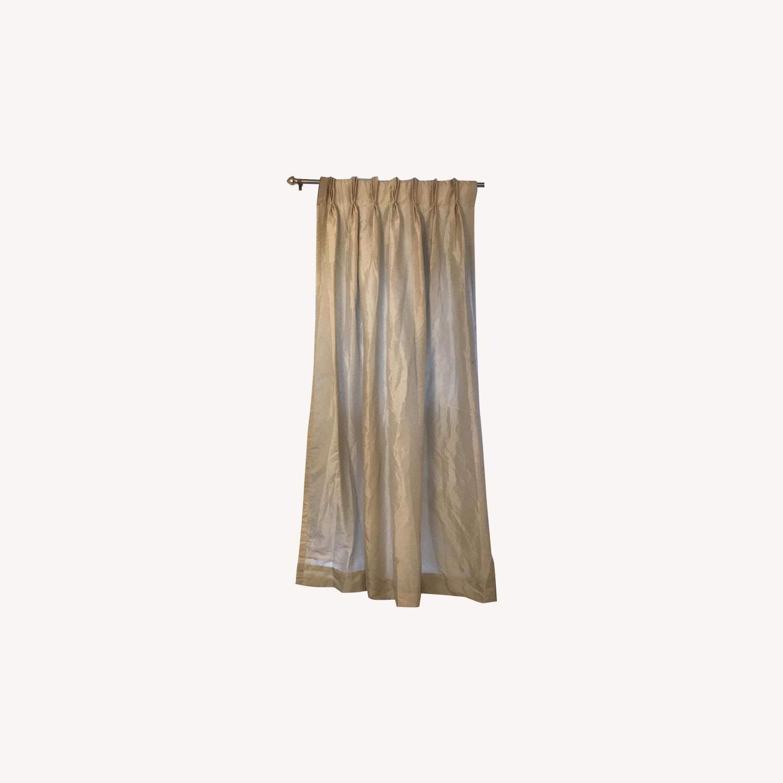 Peri Home Cream Pleated Window Curtain