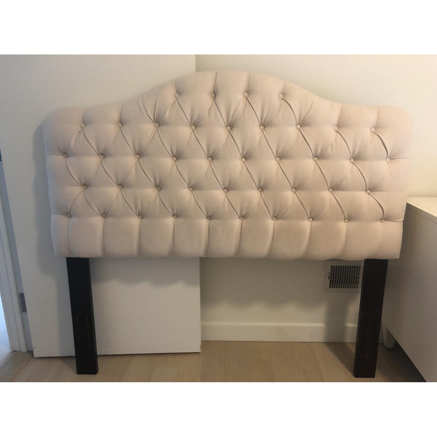 Queen Sized Tufted Headboard - image-1