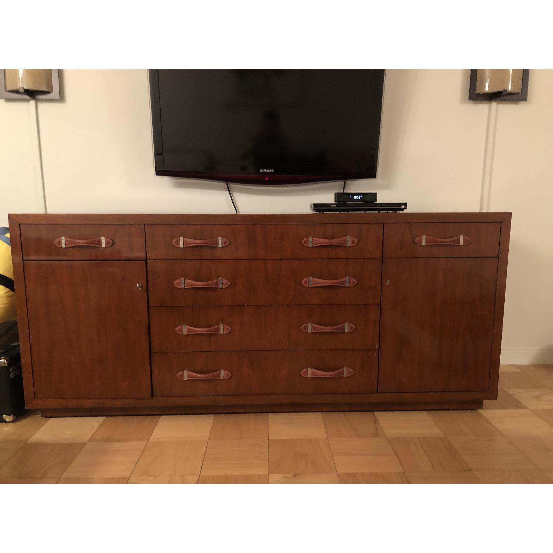 Ralph Lauren Wood Dresser w/ Leather Pulls - image-3