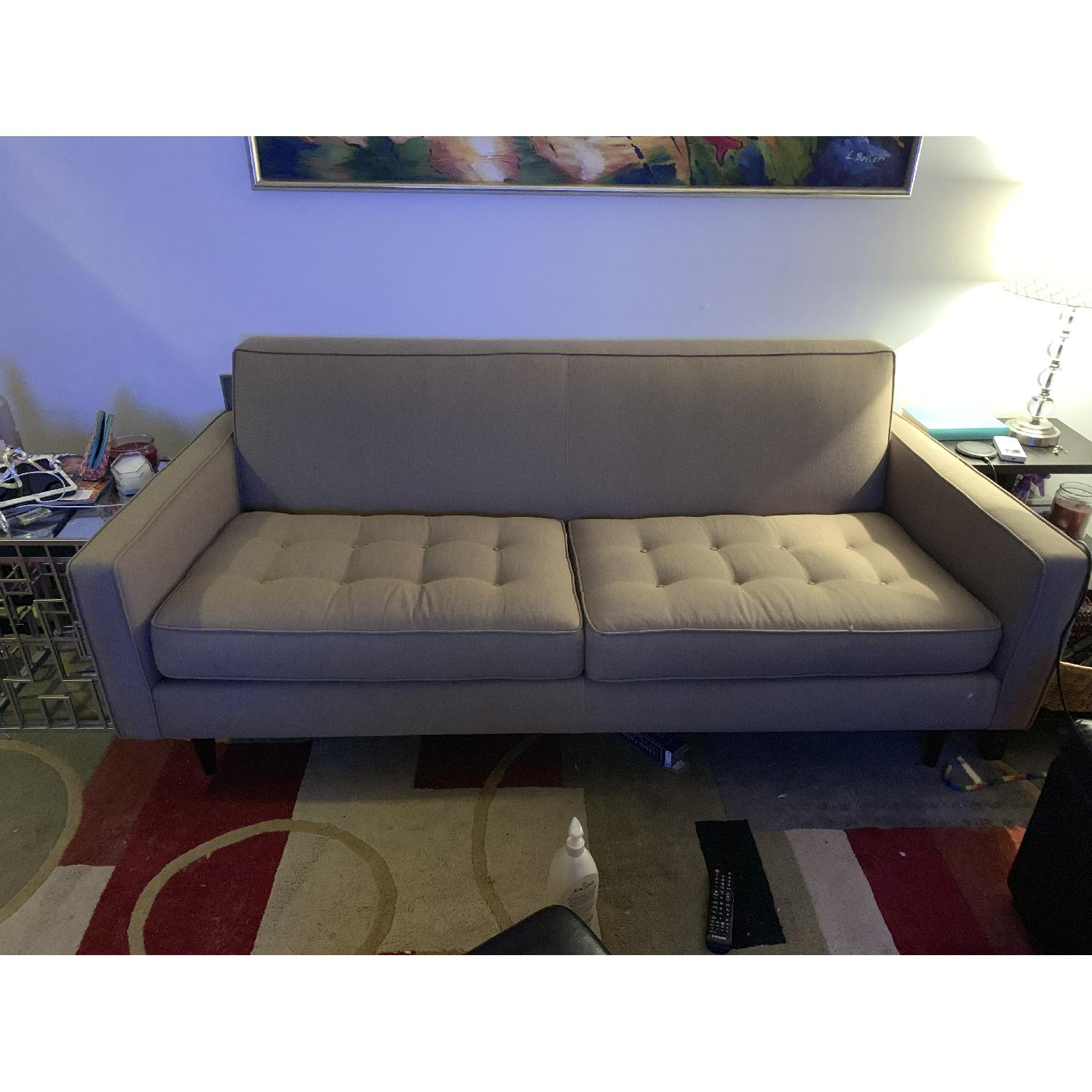 Room & Board Tutted Sofa - image-2