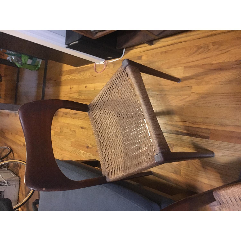 1960s Danish Modern Teak Dining Chairs - image-8