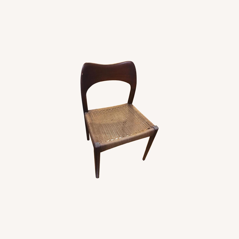 1960s Danish Modern Teak Dining Chairs - image-0