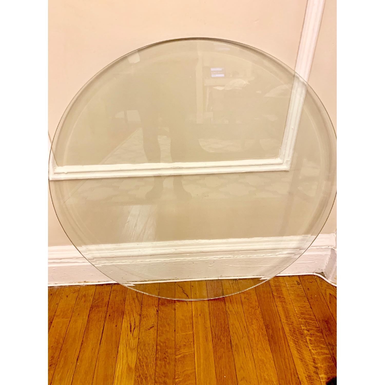 Tempered Flat Edge Polish Glass Table Top - image-1