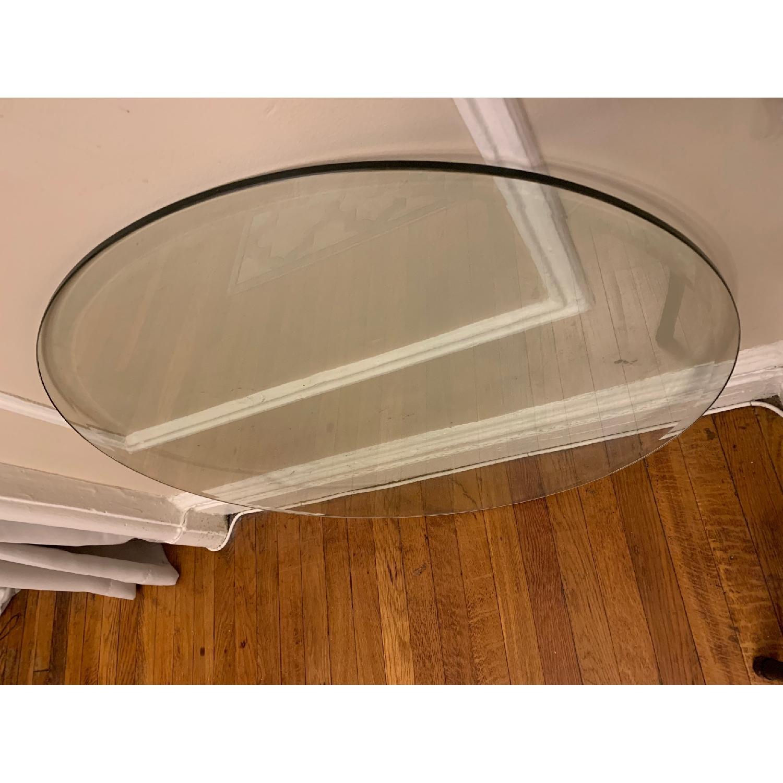 Tempered Flat Edge Polish Glass Table Top - image-2