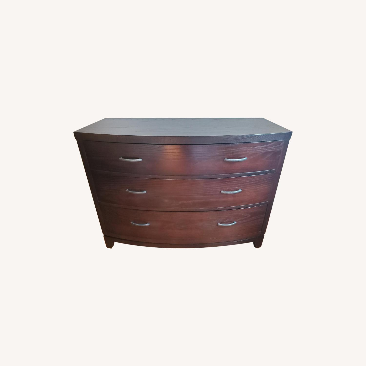 Ethan Allen Horizon Collection Bow Front Dresser - image-0