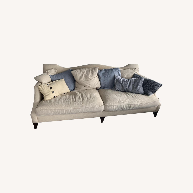 Baker Natural Fabric Sofa