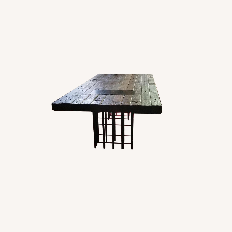 Environment Furniture Brazilian Peroba Dining Table w/ Rebar