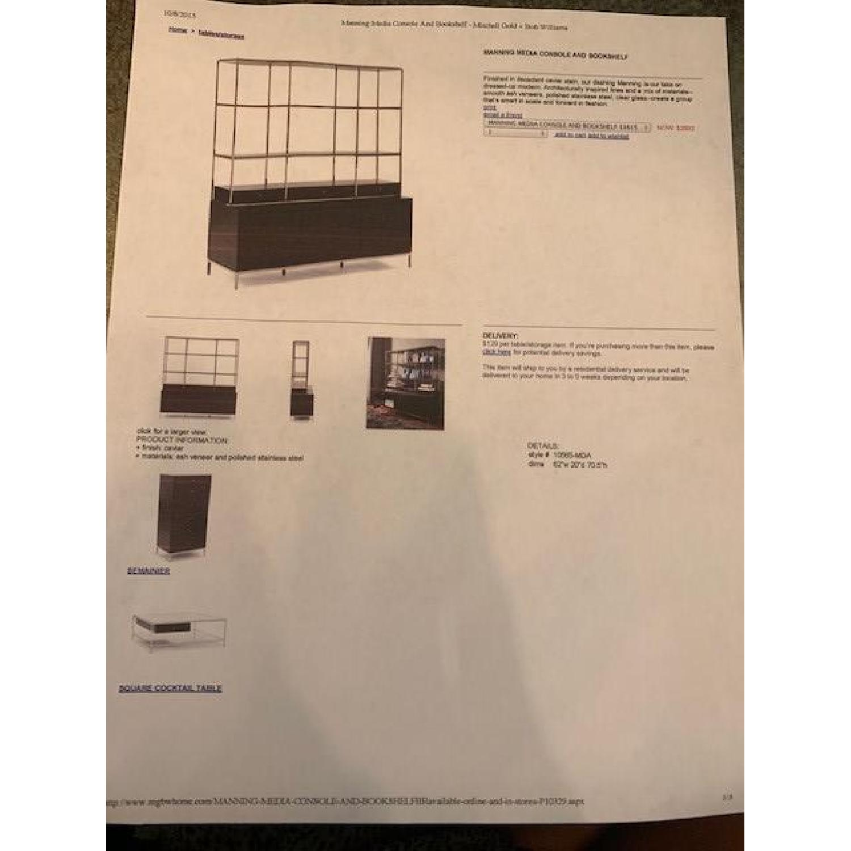 Mitchell Gold + Bob Williams Manning Media Console/Bookshelf - image-1