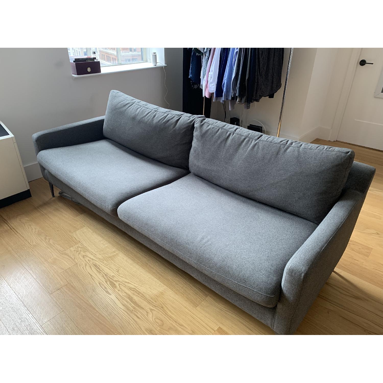 Grey Fabric Sofa - image-2