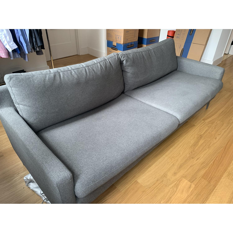 Grey Fabric Sofa - image-4