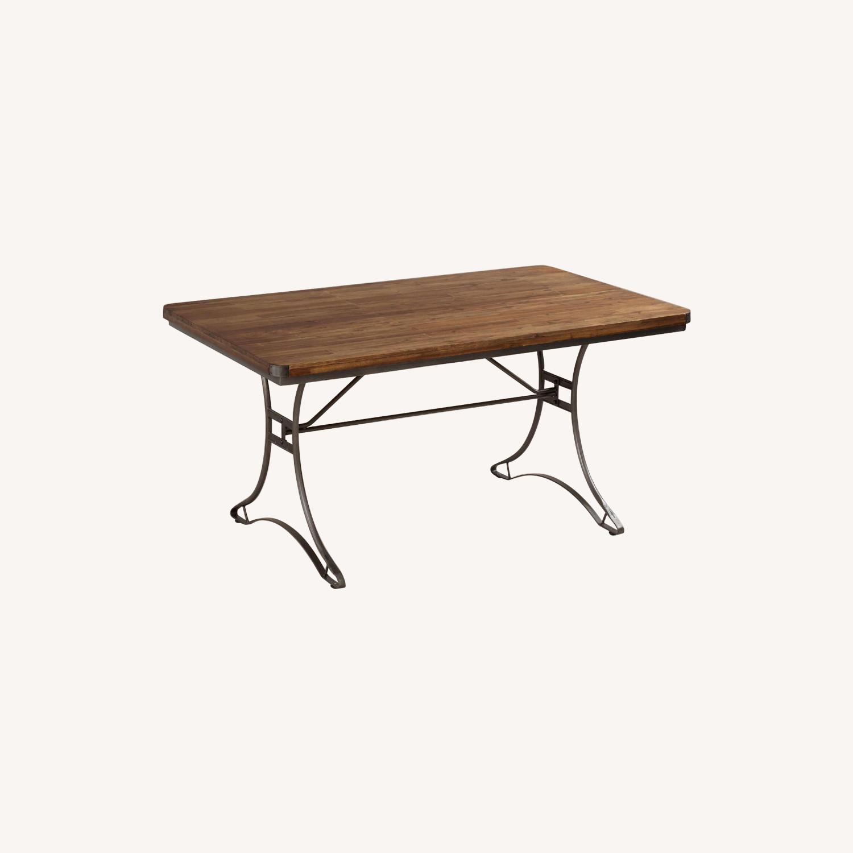 World Market Jackson Rectangular Table w/ Metal Base