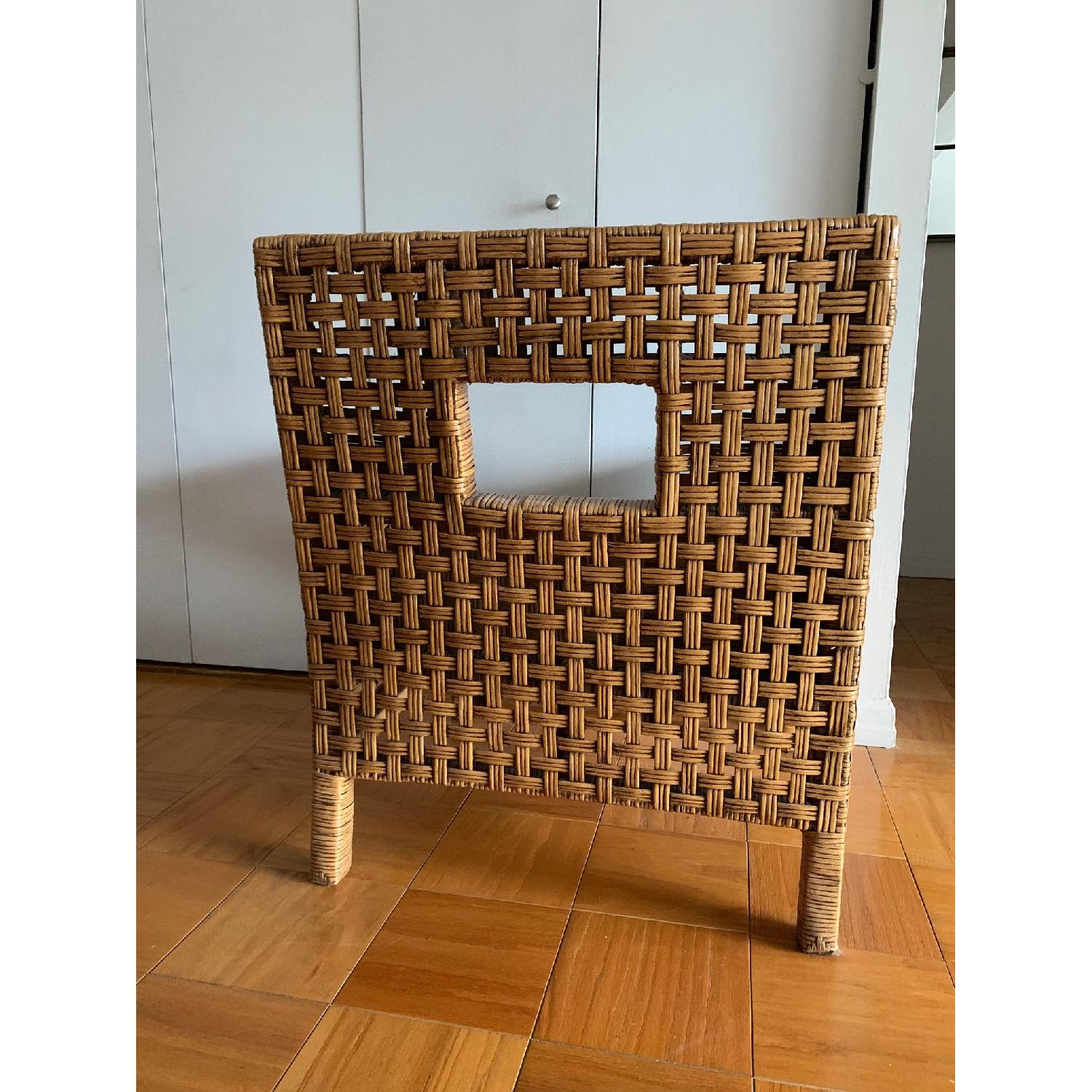 Pier 1 Wicker Chairs w/ Removable Cushions - image-5