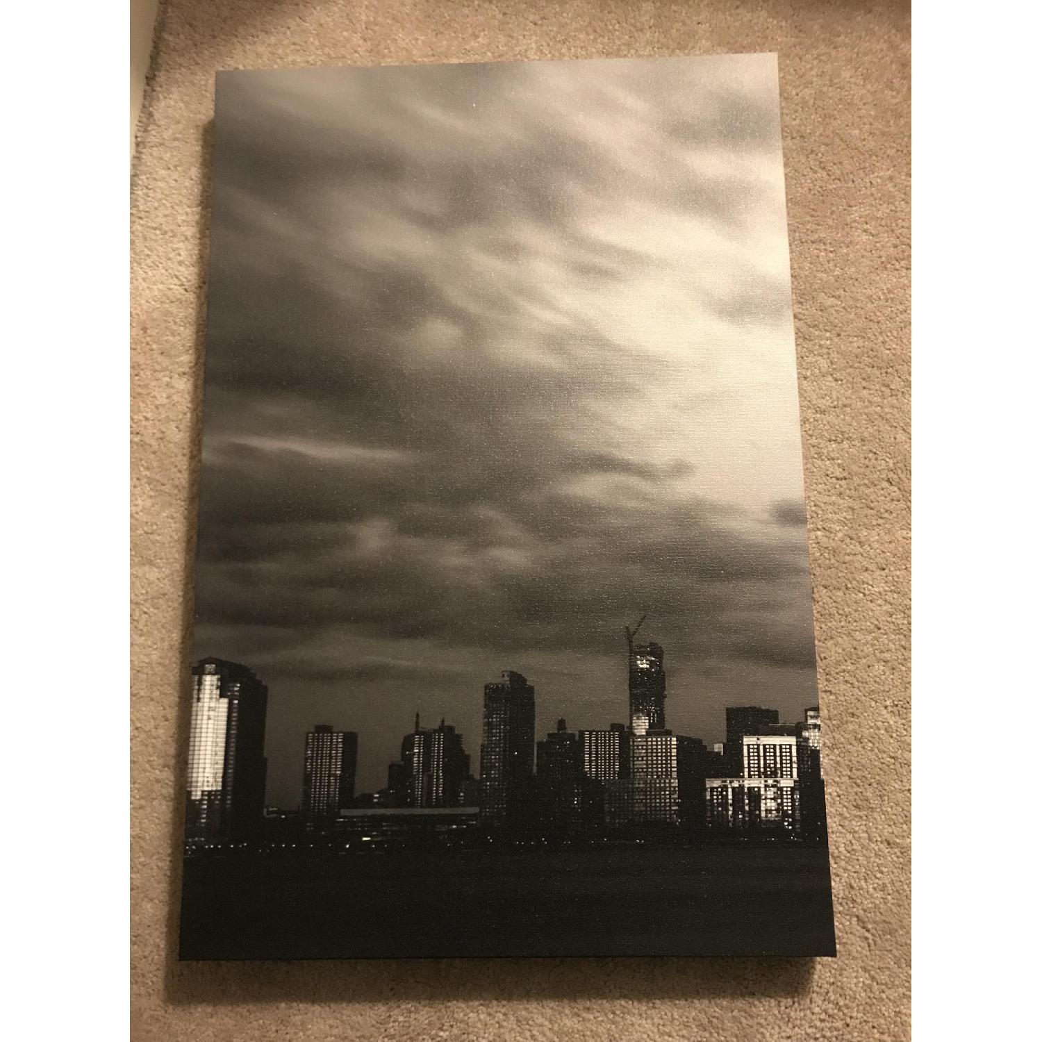 Manhattan Skyline Canvas - image-3