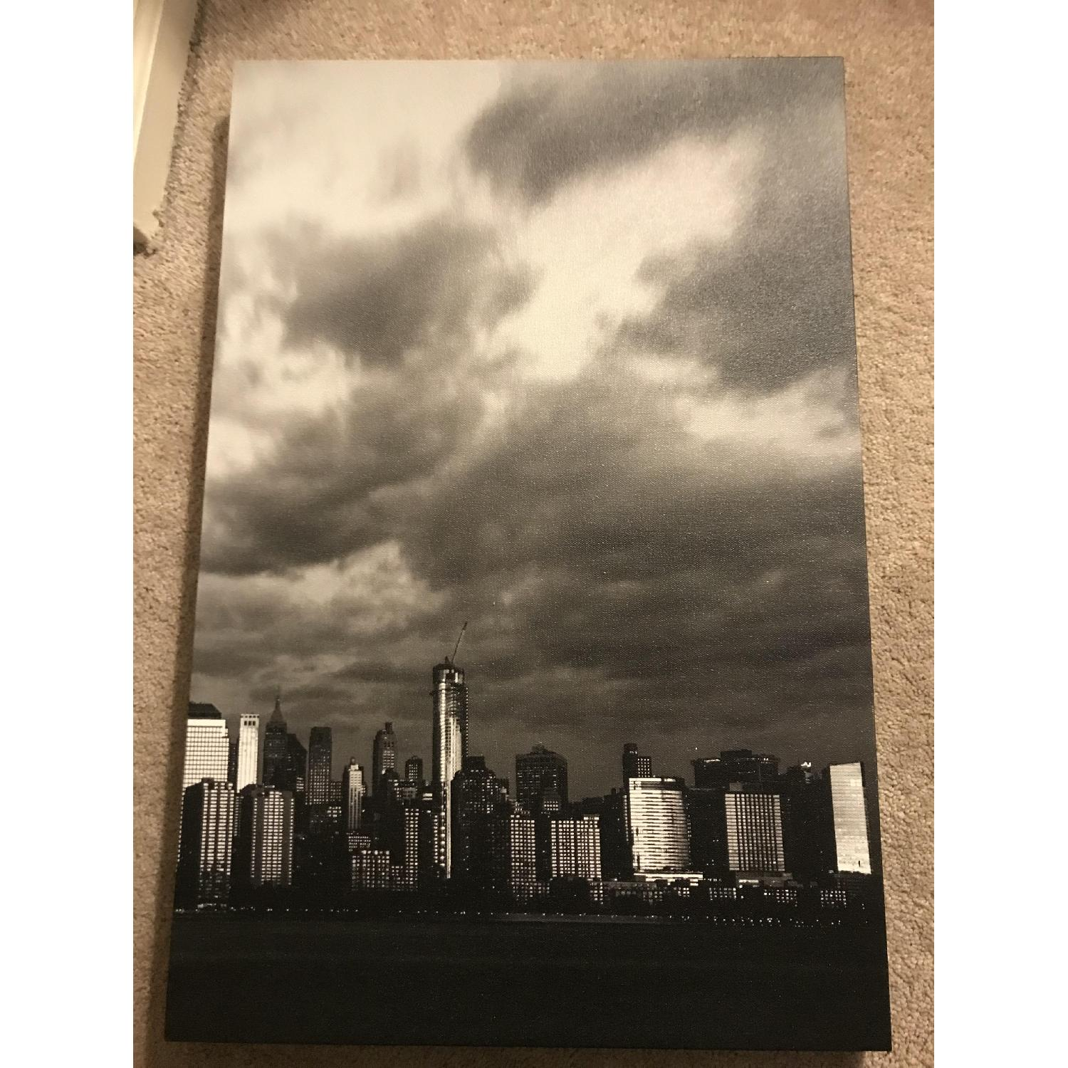 Manhattan Skyline Canvas - image-5