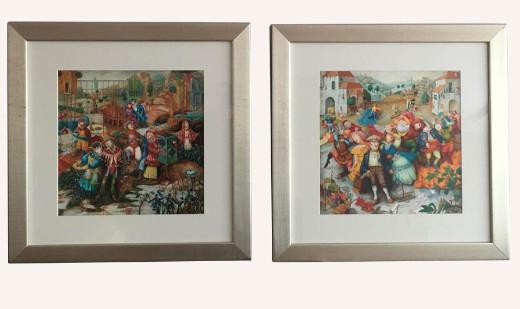 Igor Fomin Limited Edition Giclee Prints w/ Custom Framing