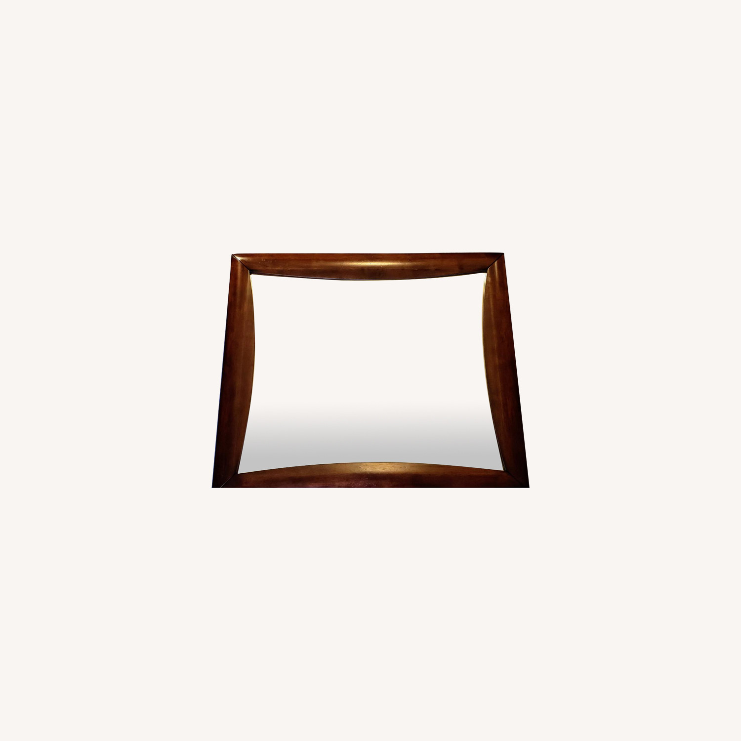 Large Solid Wood Frame Mirror