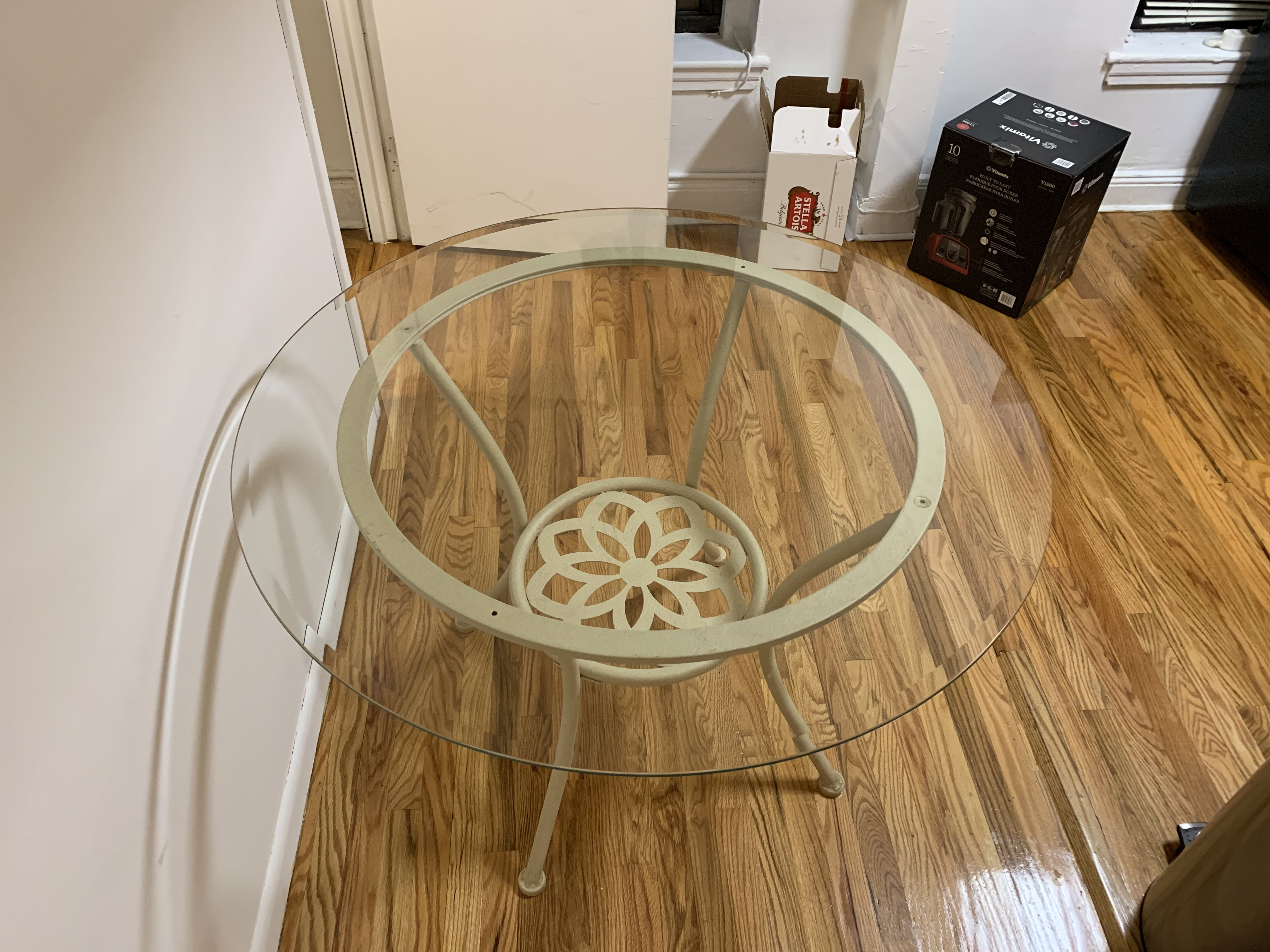 Patio Glass Dining Table