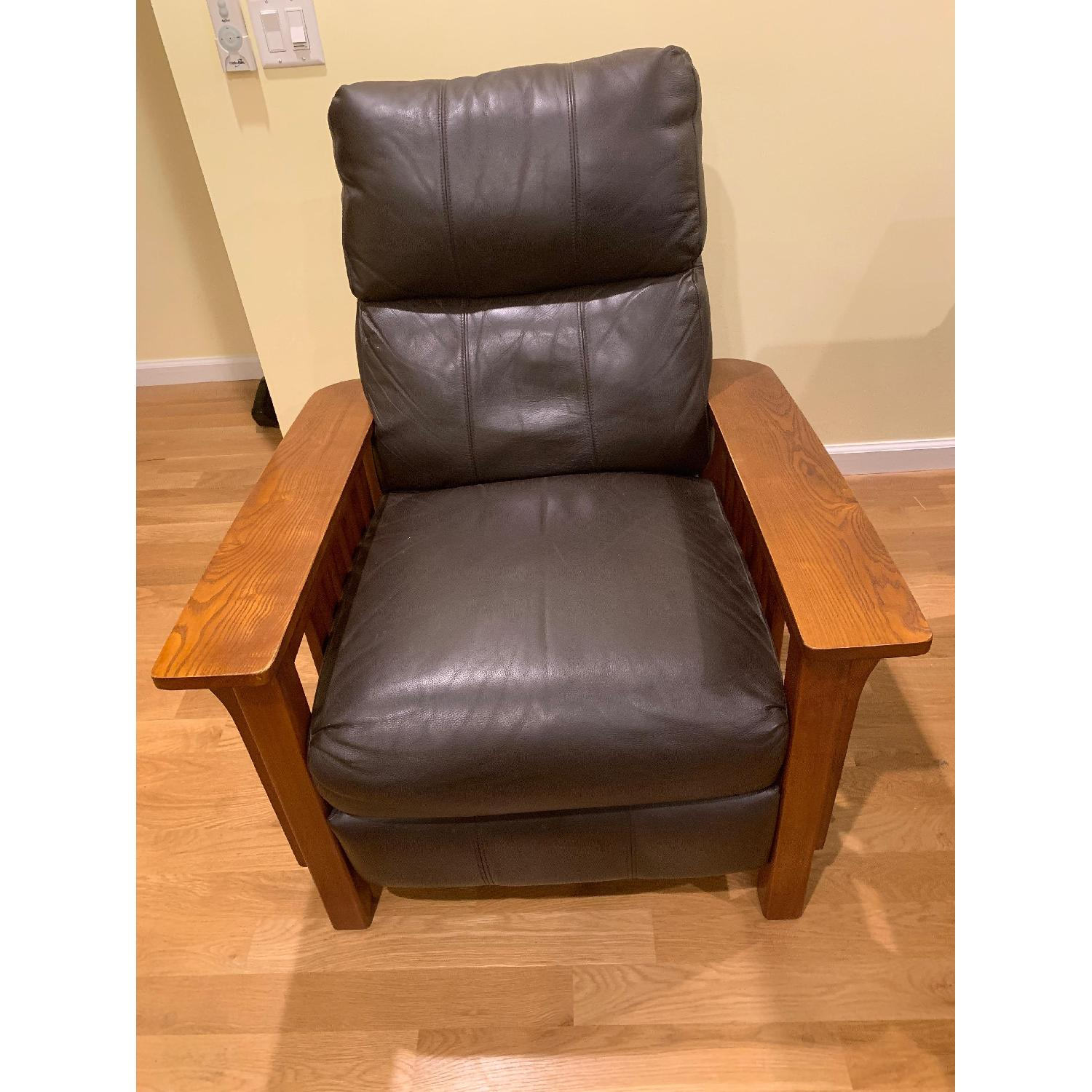 Harrison Mission Style Recliner - image-1