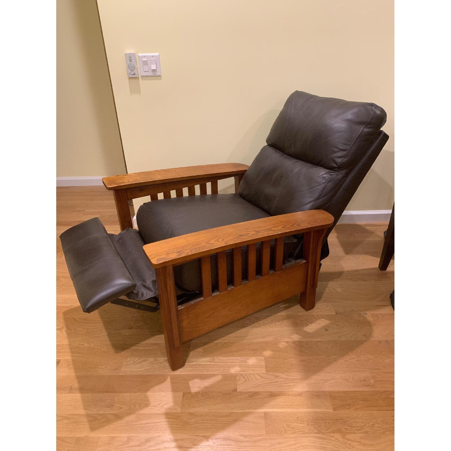 Harrison Mission Style Recliner - image-2